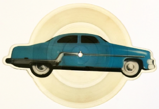 "Cars (The) ‎- Tonight She Comes (7"") (Shaped Picture Disc) (VG-/NM)"